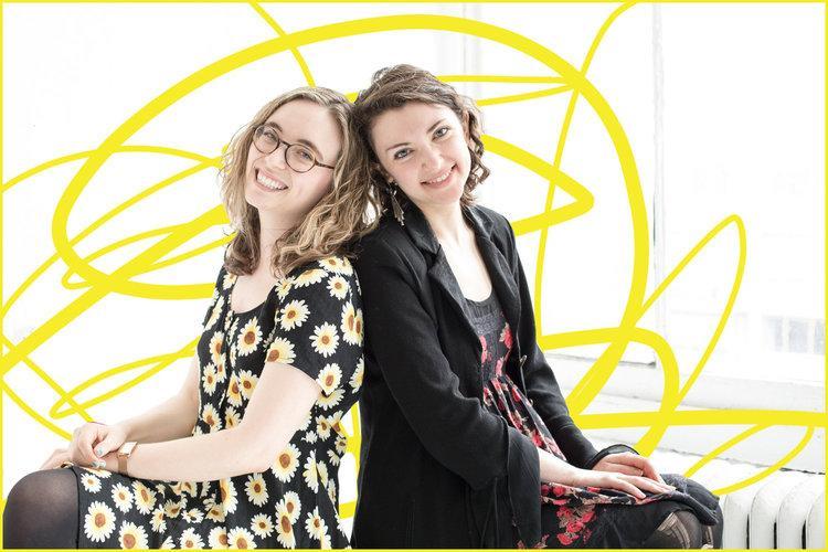 Anya Richkind and Allison Benko. Photo Courtesy of the Corkscrew Festival.