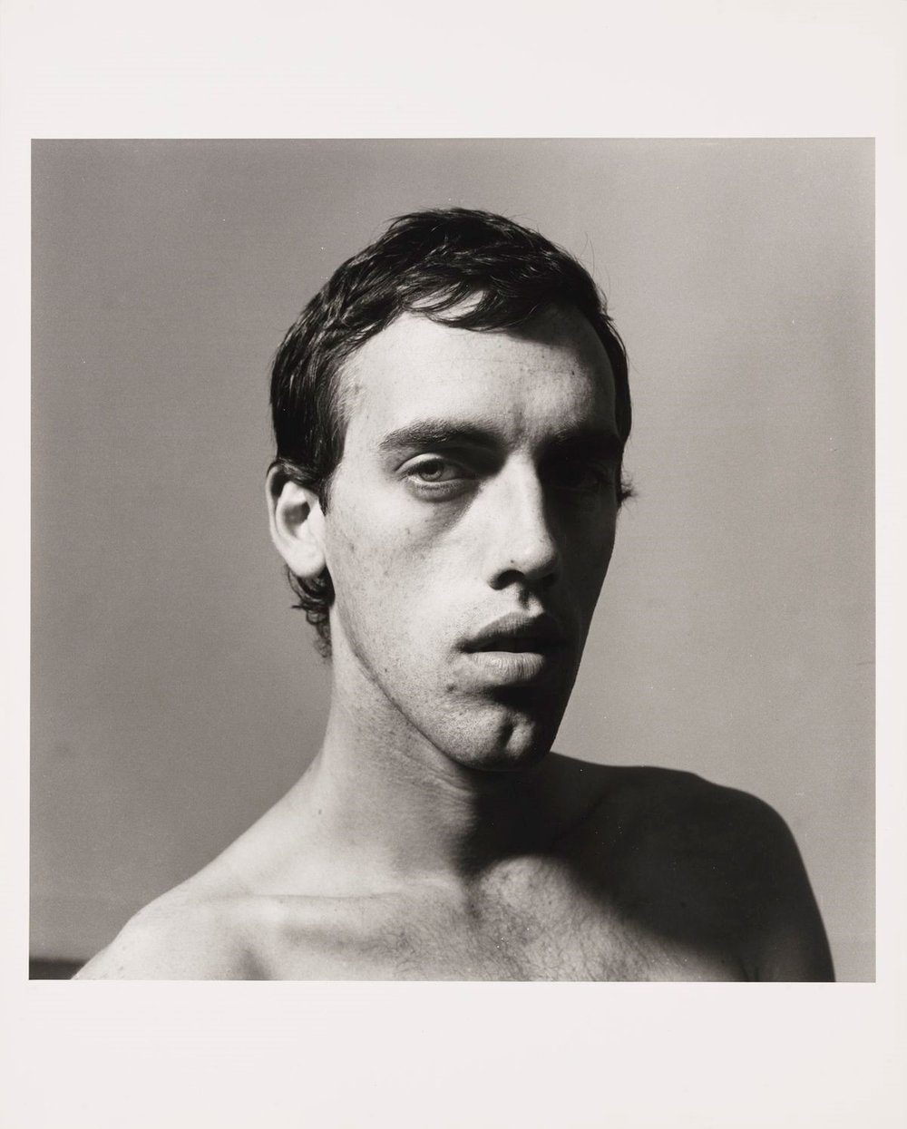 Peter Hujar (1934–1987),  David Wojnarowicz , 1981. Gelatin silver print: sheet, 19 13/16 × 15 7/8 in. (50.3 × 40.3 cm); image, 14 3/4 × 14 13/16 in. (37.5 × 37.6 cm). Whitney Museum of American Art, New York; purchase with funds from the Photography Committee 93.76. © The Peter Hujar Archive