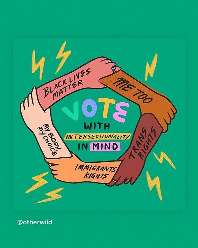 Vote!!!!! (Artwork by @ashlukadraws)