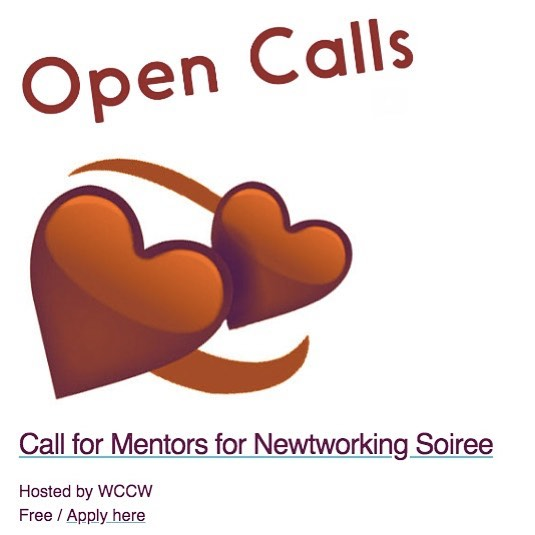 @womenscenterforcreativework  is hosting It's Not Not Networking- An Anti-Valentine's Matchmaking Soirée on Feb 9,2019. Please consider signing up as a mentor to share your experience and expertise with women and non-binary folks. https://womenscenterforcreativework.com/call-for/call-for-mentors/