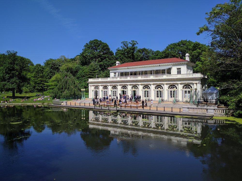 The Boathouse, Prospect Park, New York