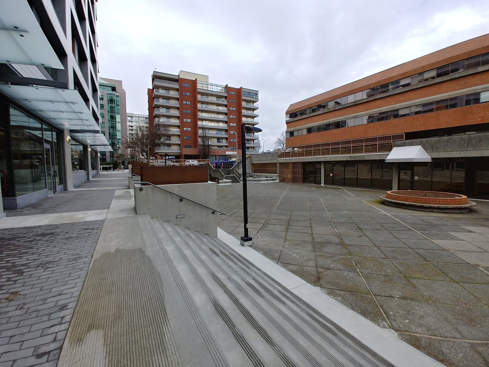 The still very empty Rotherham Plaza.