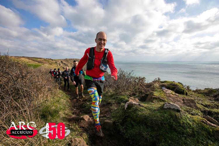 Colin Bathe Arc of Attrition ultra runner