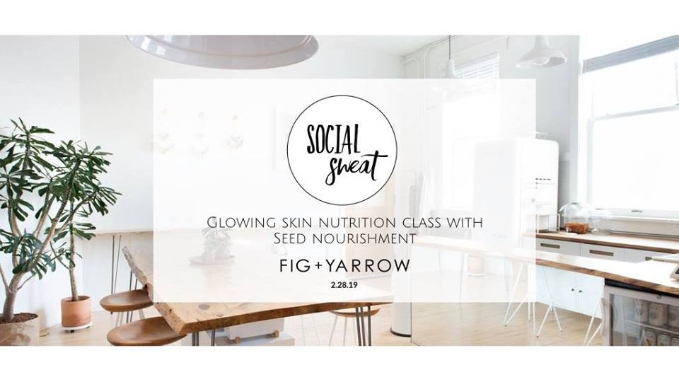 2.28.19   GLOWING GODDESS SUPERFOOD CLASS   Dinner with a side of superfood glow ball making class in an intimate setting