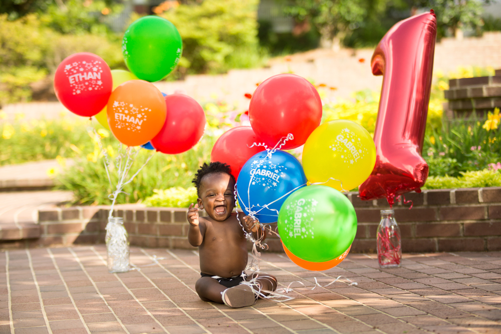 1st-Birthday-Balloons-Colorful-Photography