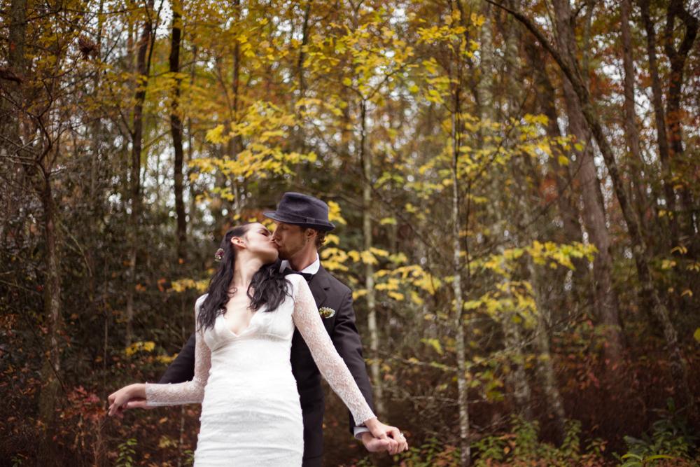 Elopement+Asheville+Fall+Wedding+Cannabis+Inspired