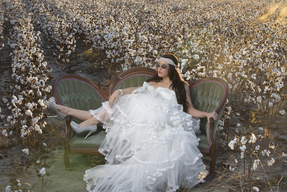 cotton-field-bride-wedding