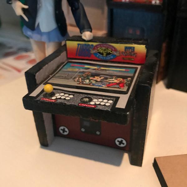 Arcade Cabinet v2 - Front