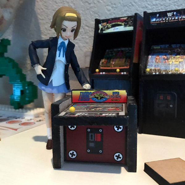 Arcade Cabinet v2 with 1:12 scale Figma