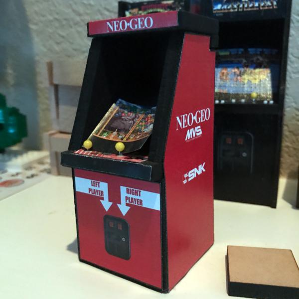 Arcade Cabinet v3 - Front