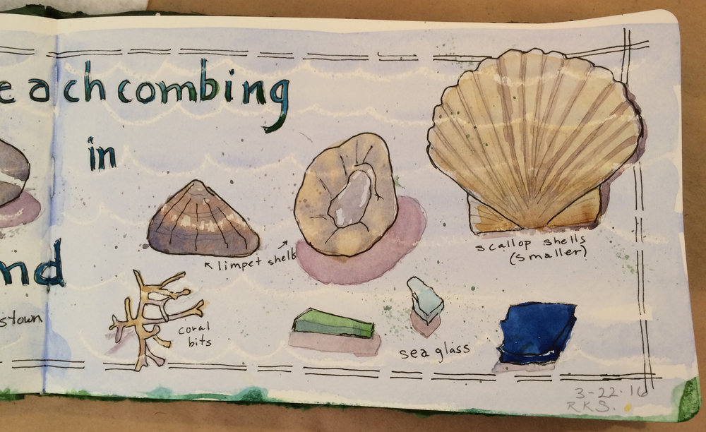 Ireland Sketchbook-closeup right side-Beachcombing, pre-trip2016.jpg