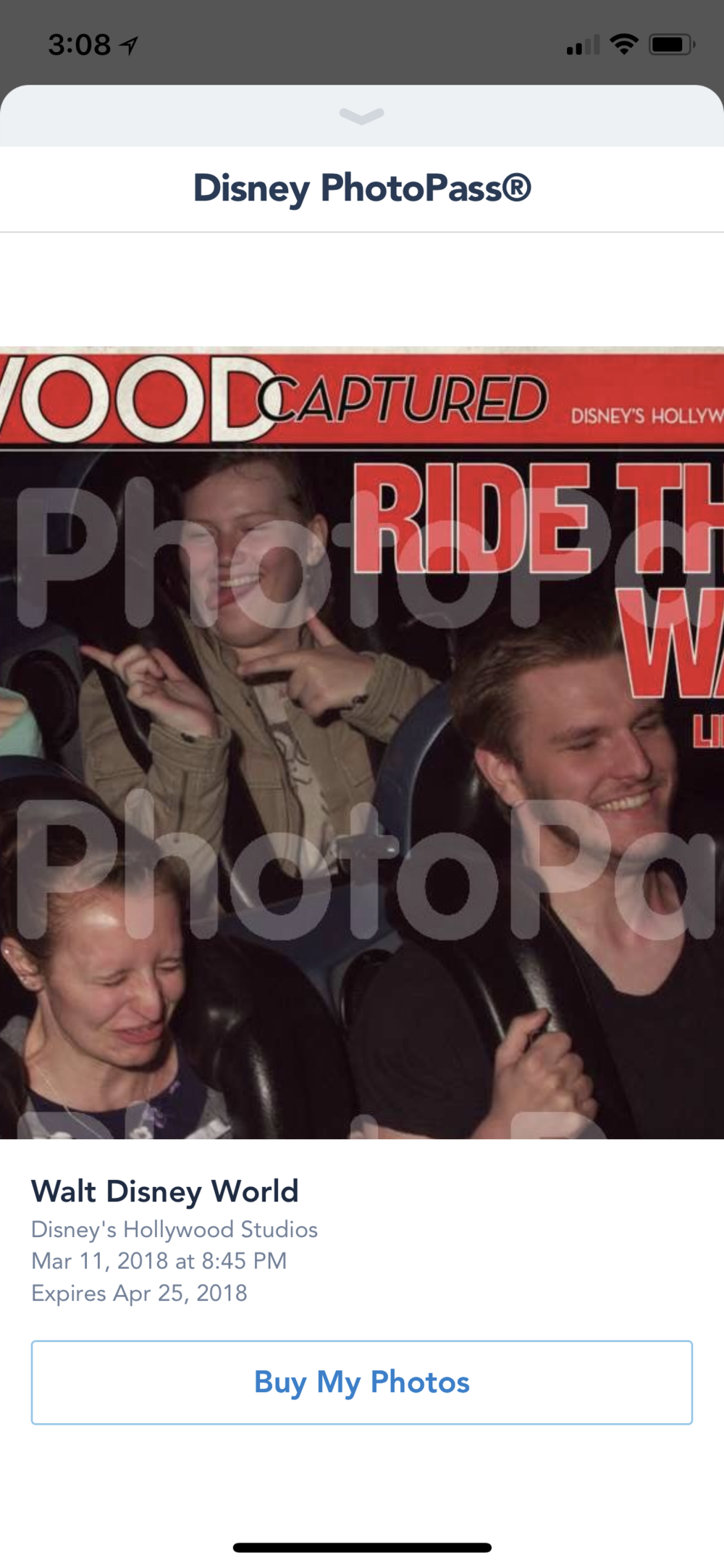 Ha, look at Aarica's face on Rock 'n Rollercoaster!