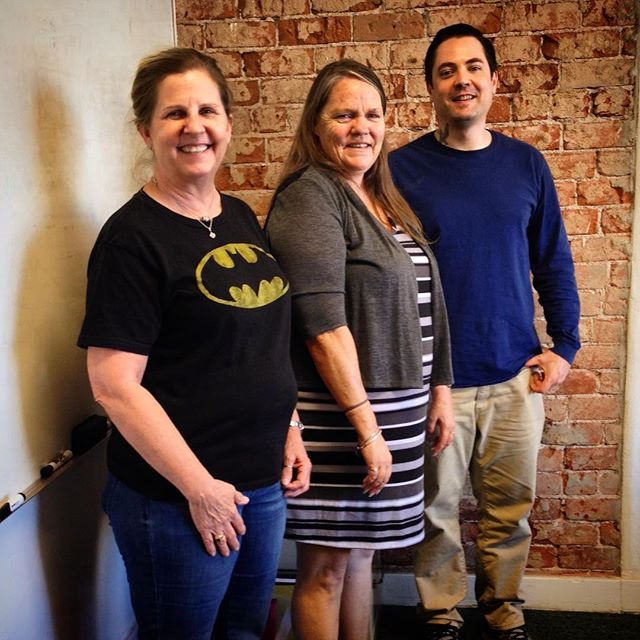 A heartfelt congratulations to our new peer mentor class graduates, Robin (center) and Ryan (right)! These two put in three months of coursework, including a practicum in @ourplaceclubhouse, and are on their way to employment as peer support specialists in the #mentalhealth field! That's instructor Keri on the left. We're so proud of you! #CTFTucson #RecoveryWorks
