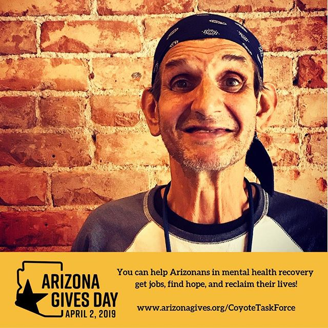 You can help make a difference in the lives of Arizonans in mental health recovery right here at #CTFTucson and our programs @cafe54_bistro and @ourplaceclubhouse (and @rethreadstucson)! Schedule your @azgives gift today and put recovery to work!