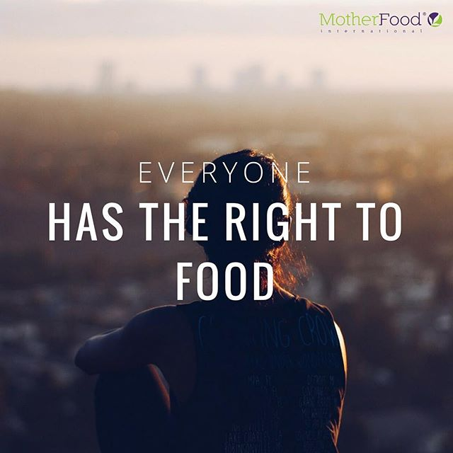 Everyone has the right to adequate food to ensure a physical and mental, individual and collective, fulfilling and dignified life free of fear  #nutrition #food #humanrights  Learn more here: http://www.ohchr.org/EN/Issues/Food/Pages/FoodIndex.aspx