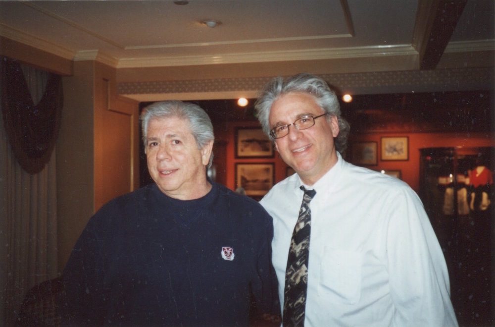Jeff with Carl Bernstein