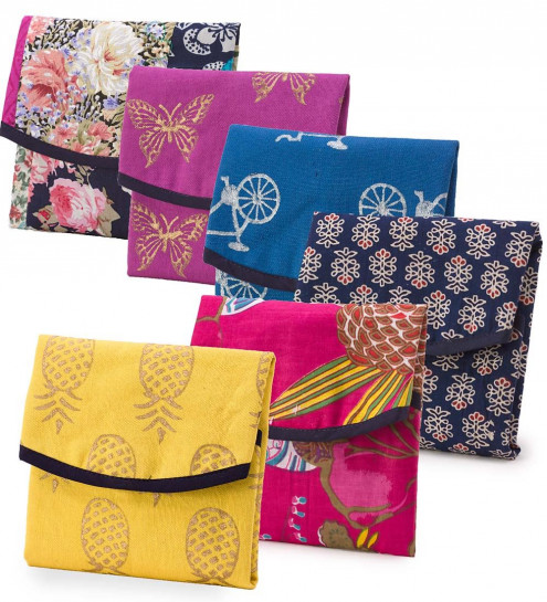 #9. Ditch the plastic bag - and spice up your sandwiches and snacks with these beautiful and reusable bags and wraps. http://www.reuseit.com/reuseit-artisan-made-sari-sandwich-wrap.htm
