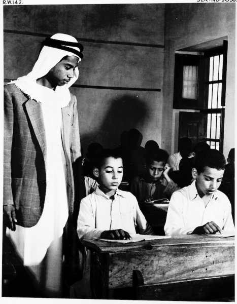 Photo from Kuwait Oil Company Archives (c. 1950)