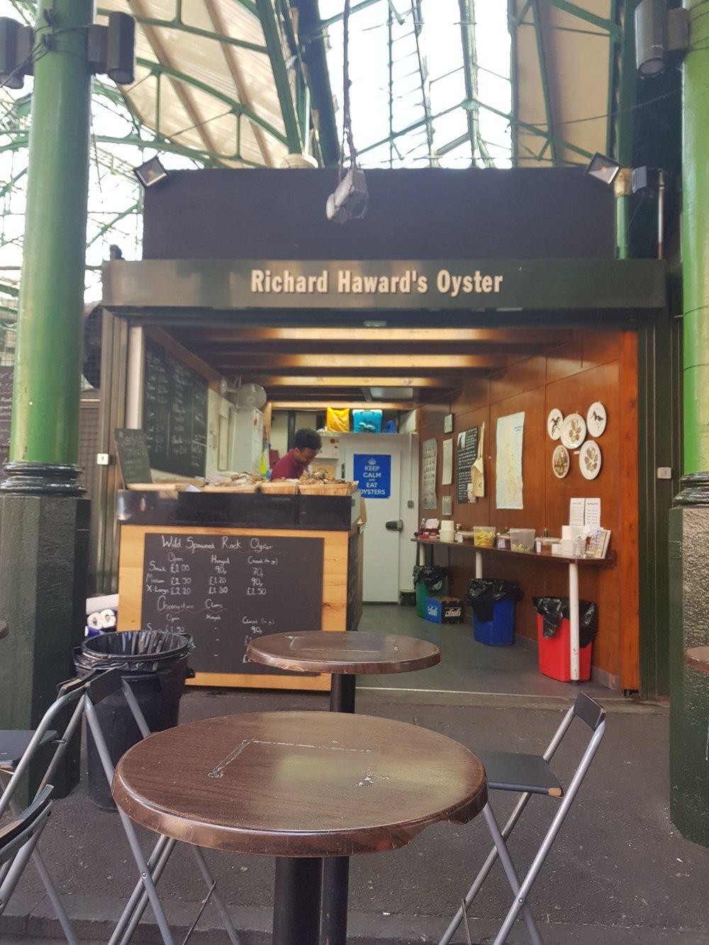 Richard Haward's Oyster.