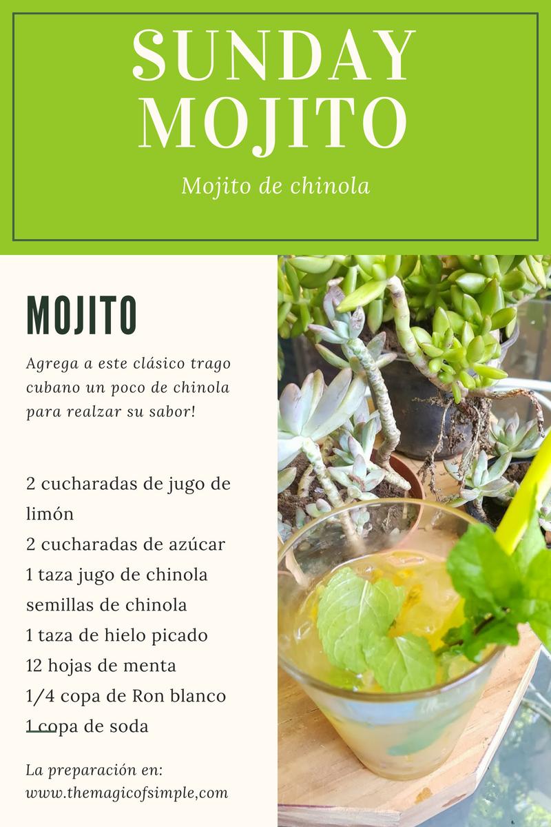 Mojito de Chinola