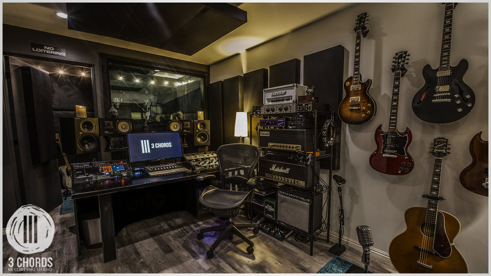 Yes. A Recording Studio. — 3 Chords