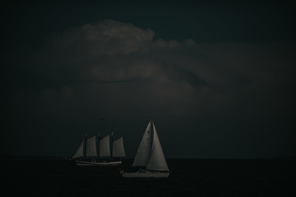 One ship drives east and other drives west by the same winds that blow. It's the set of the sails and not the gales that determines the way they go.   Ella Wheeler Wilcox