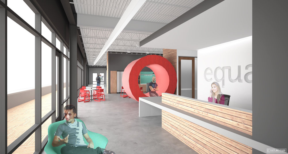 Equator Cincinnati, design and rendering by Eastlake Studio.