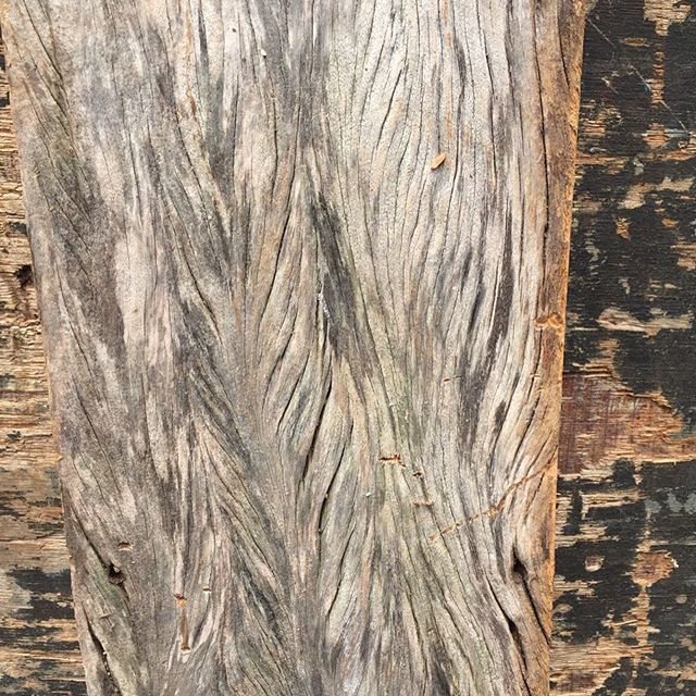 This is what you can expect when you see our weathered reclaimed peroba rosa. It's just stunning!