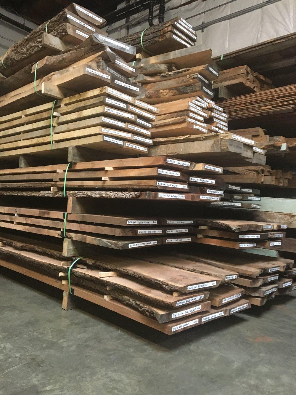 rought sawn lumber