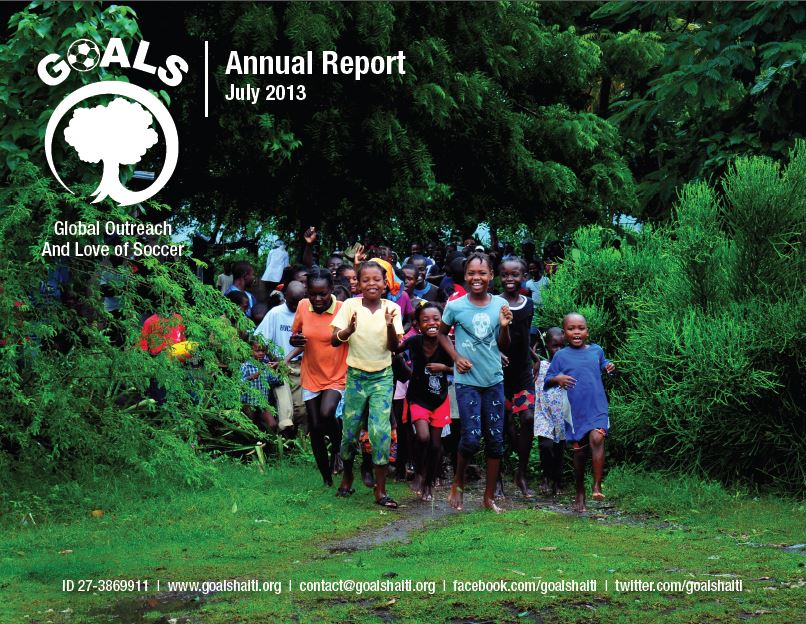 GOALS Haiti July 2013 Annual Report
