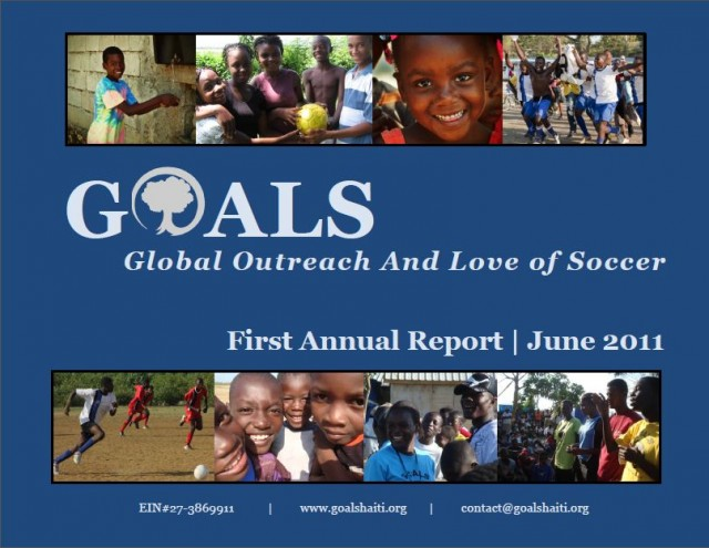 GOALS Haiti 2011 Annual Report
