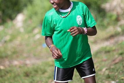 A new Magandu player (Photo: Jovan Julien)