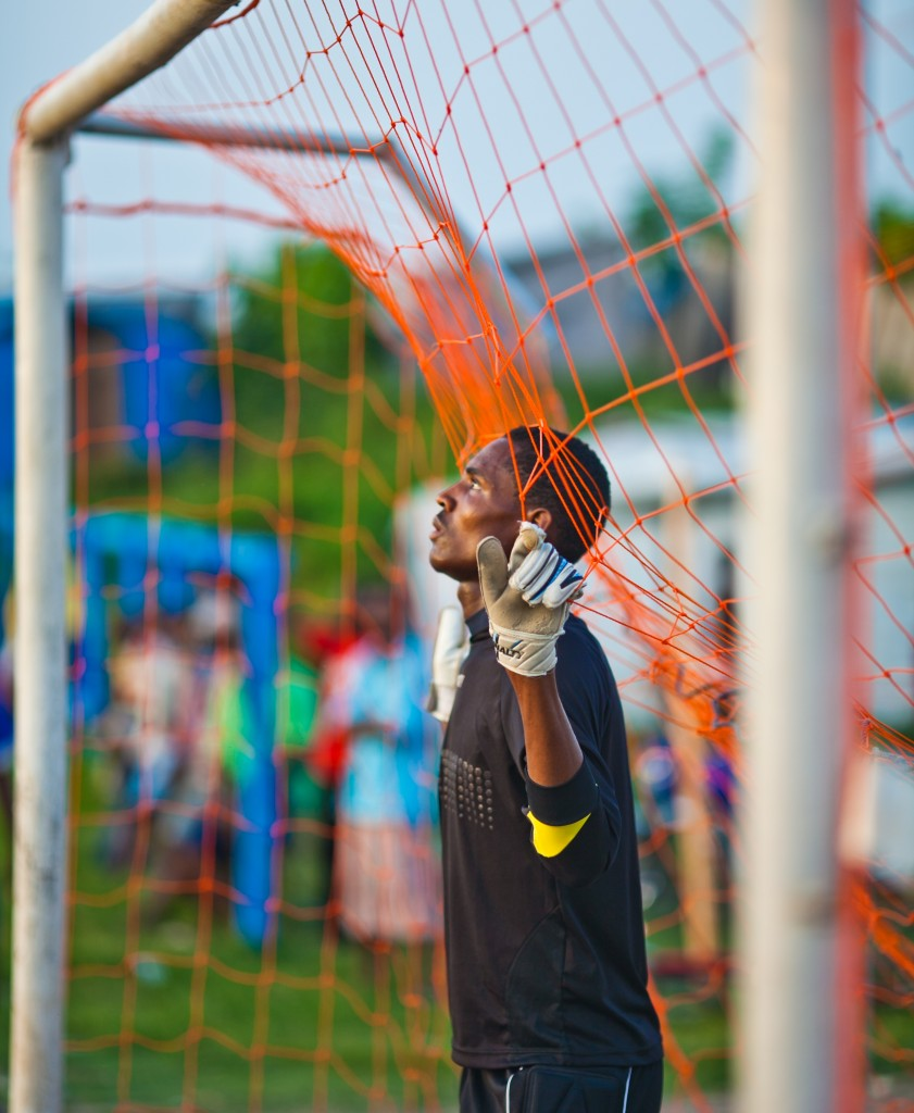 Destra's undefeated goalkeeper (photo: Jovan Julien)
