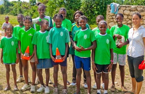 Magandu Girls Team (Photo: Jovan Julien)