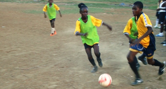 Mixed-gender teams and matches are one way Jolinda has increased GOALS' capacity to empower young women through sport.
