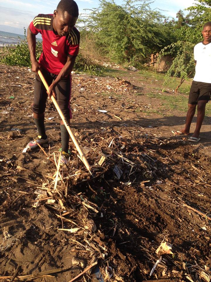 GOALS Haiti cleanup