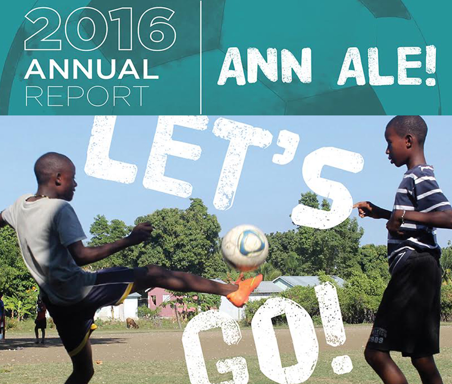 GOALS Haiti 2016 Annual Report