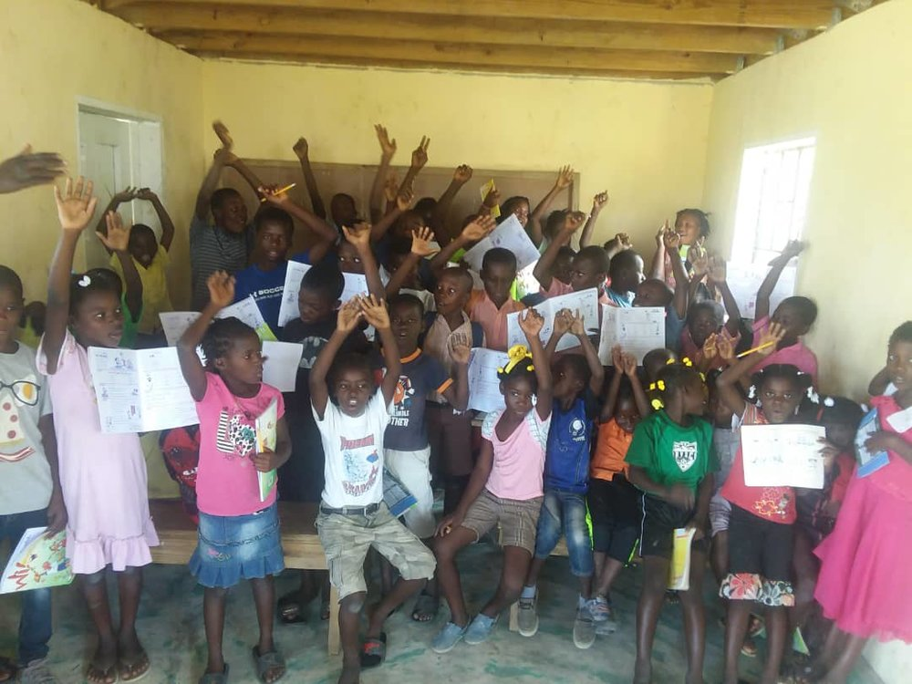 The new class for level 1 literacy in Destra