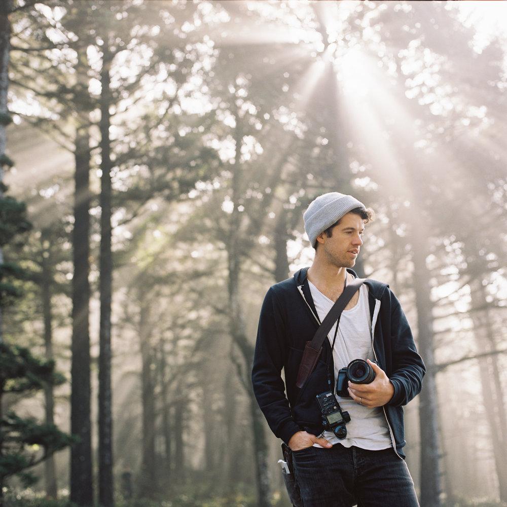 Jacob on the Oregon Coast. Photo by  David Dufeal .