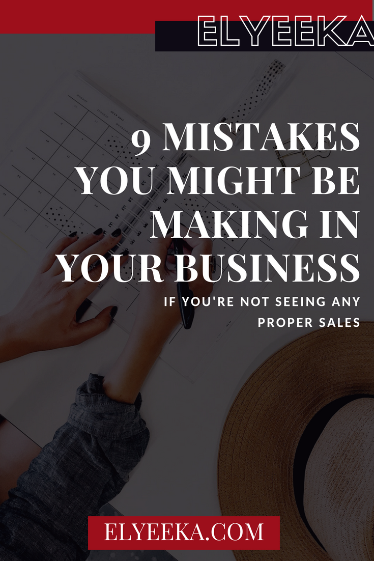 squarespace tips, business tips, making sales, business mistakes,