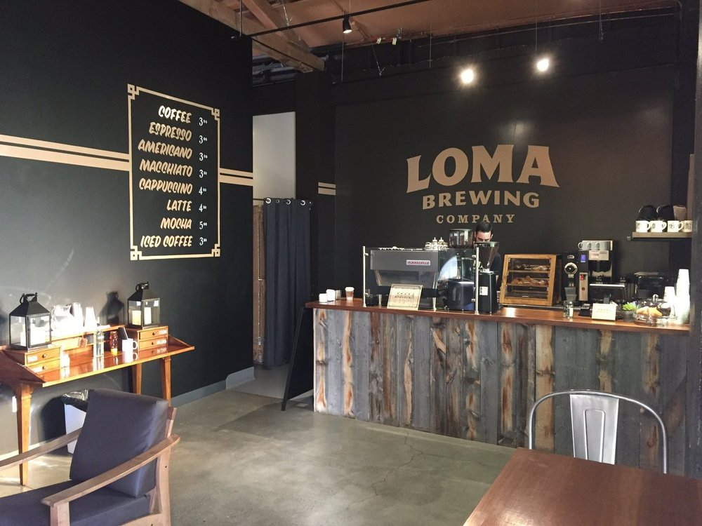 COFFEE BAR Loma Brewing Company