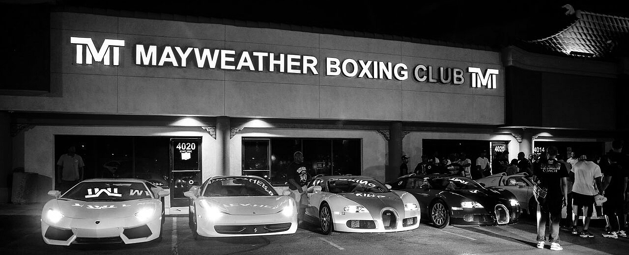 531cf3812c43 The Gym — The Mayweather Experience