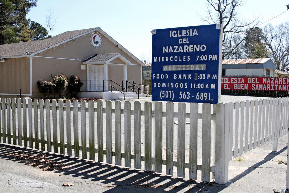 Iglesia Del Nazareno, Stanton Road