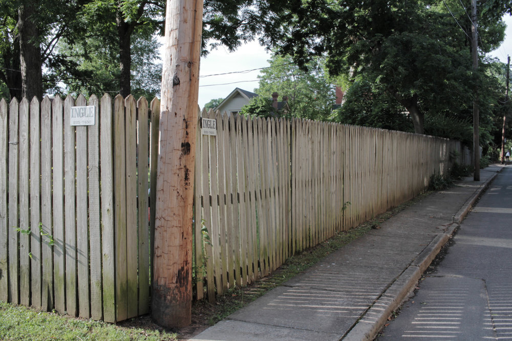 Fence, Commerce Street