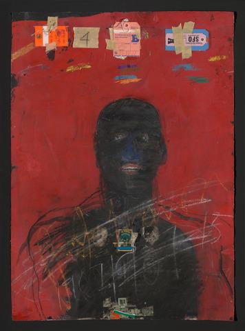 Jack Johnson, by Raymond Saunders
