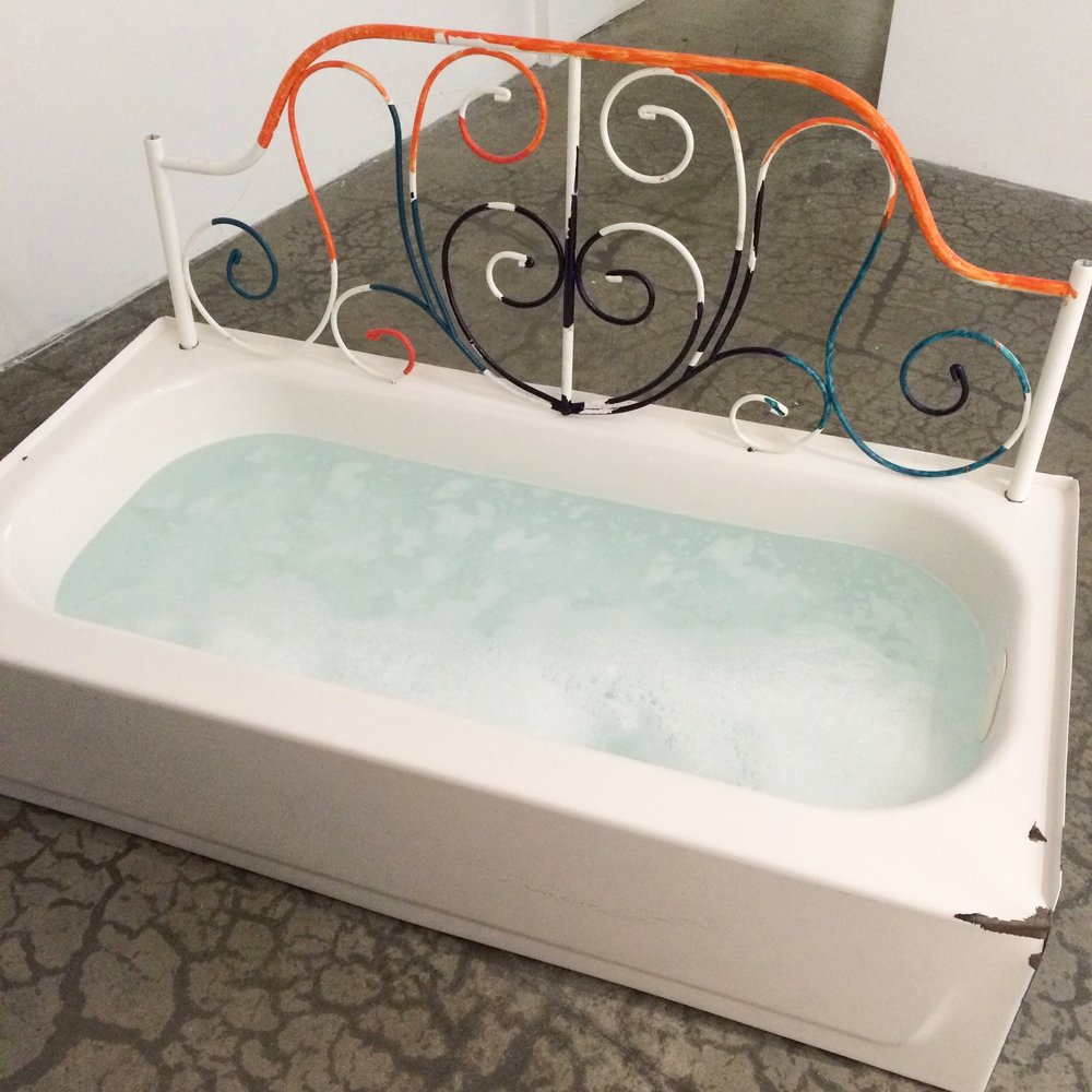 Bathtub sculpture, 2016