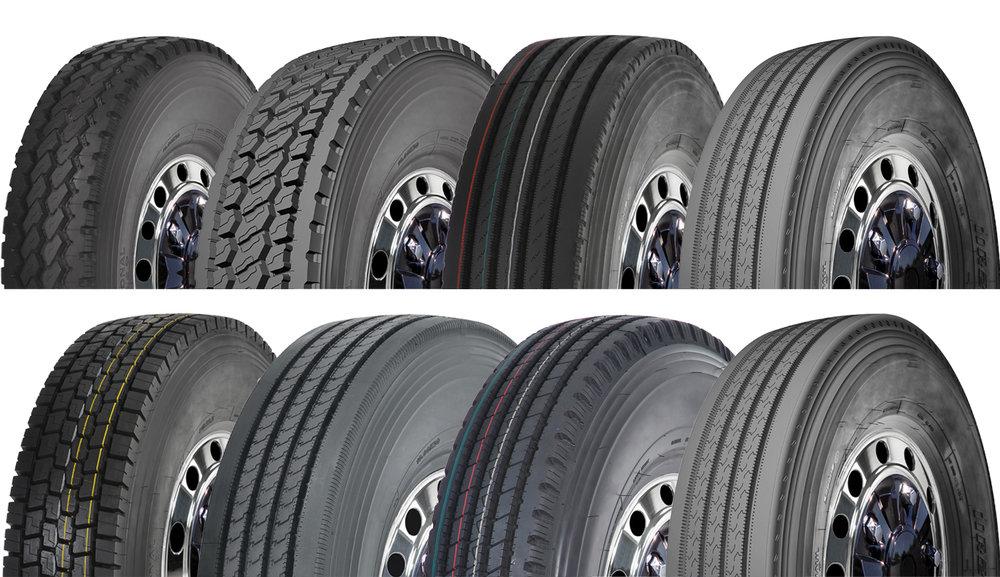 Selección de Neumáticos - Revise nuestra amplia selección de neumáticos