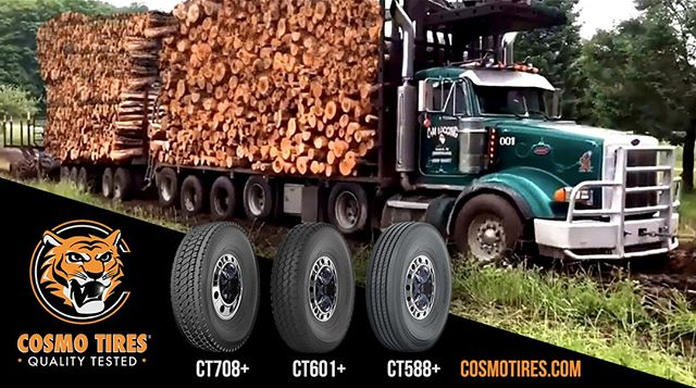 Get the job done with our heavy duty truck tires. See our catalog at http://cosmotires.com to see which tire is best for you #CosmoTires #QualityTested  Realiza el trabajo con nuestros neumáticos de camiones.  #qualitytested #cosmo #cosmotires #semitruck #tires #tyres #llantas #heavyduty #camion #truck #cabezal #safra #logs #timber #lumbarjack #trees #wood