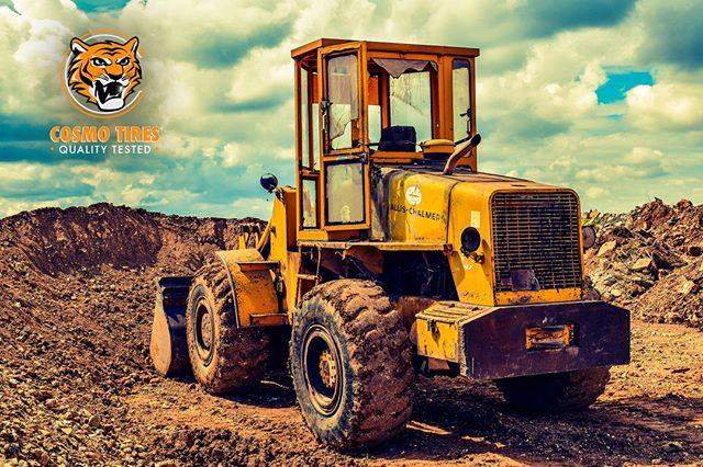 Industrial tires for heavy duty work #CosmoTires  Neumaticos industriales para trabajos pesados  #qualitytested #cosmo #cosmotires #offroad #construction #volvo #tread #tires #tyres #llantas #heavyduty #durable #dirt