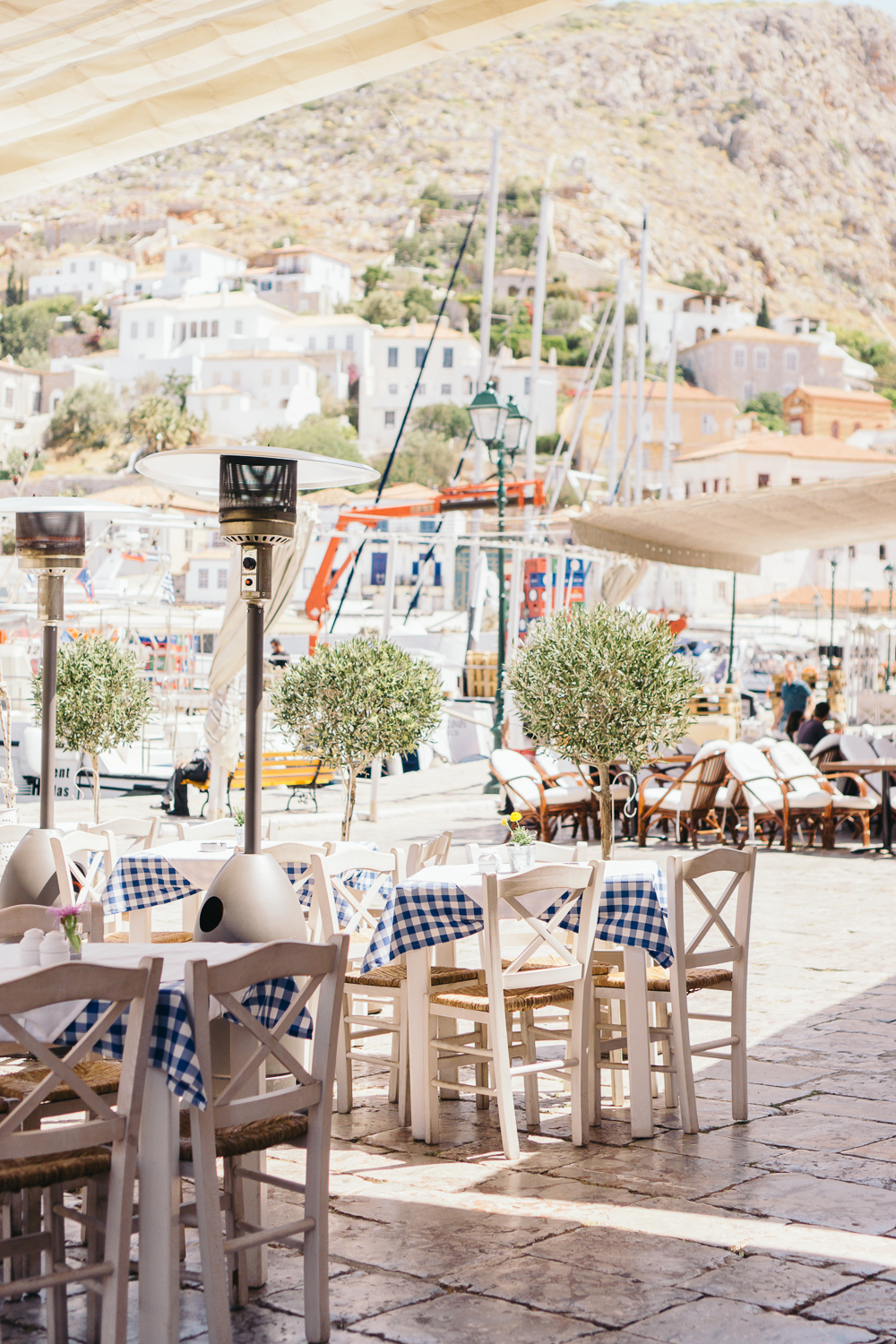 The port is lined with the cutest cafes and shops.